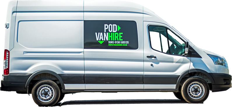 Hire long wheel base van, Scottish Borders
